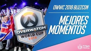 Overwatch World Cup 2018 - Mejores Momentos - BlizzCon