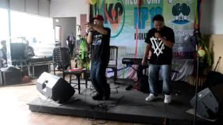 foudy sunda hip hop - disanguan LIVE @kampung sawarga reuni kp10