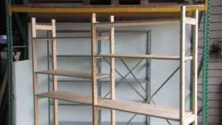 Spiksplinternieuw Stellingkast monteren | Instructievideo Houten Stelling Easyrek UK-93