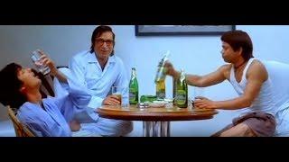 Chup Chup Ke comedy scene review drinking, Shahid Kapoor, Rajpal Yadav, Shakti Kapoor