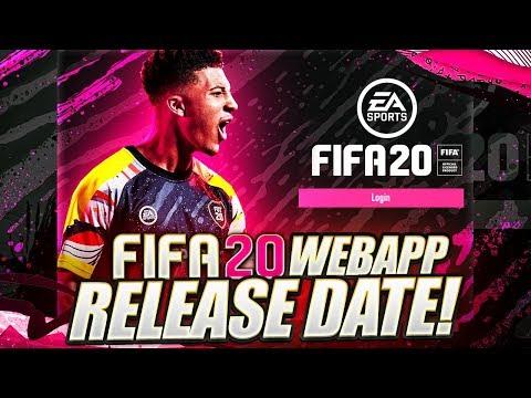 FIFA 20 WEB APP RELEASE DATE!