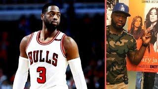Dwyane Wade Responds To 50 Cent Saying He's Going To Take Gabrielle Union Down With 50 Central