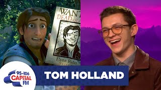 Tom Holland On Live-Action Tangled & Embarrassing His Brothers 🙈 | FULL INTERVIEW | Capital