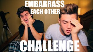 Embarrass Each Other CHALLENGE