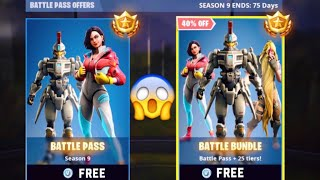 How To Get Season 9 Battle Pass For FREE! - Fortnite Battle Royale