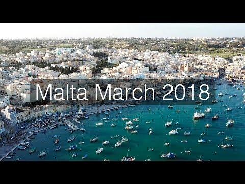 Malta 2018 from drone 4K