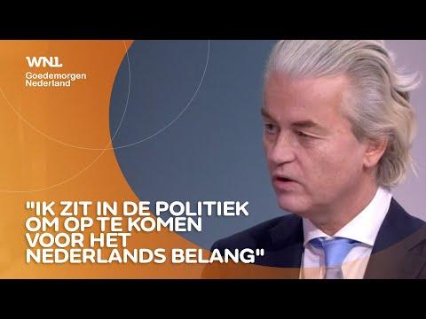 Geert Wilders: 'Ik zit niet in de politiek om verbinding te zoeken'