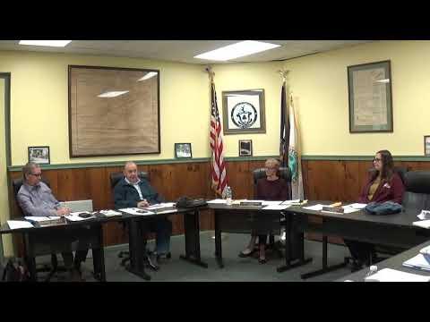 Champlain Village Board Meeting  10-18-21