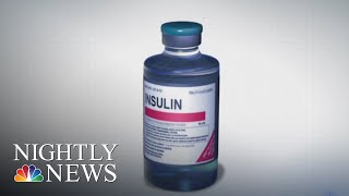 Americans Rationing Insulin As Prices Skyrocket | NBC Nightly News