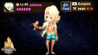 The Power of Julianne in RTA - Summoners War