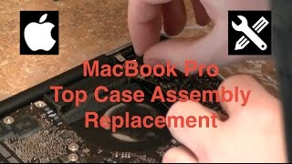 Apple MacBook Pro Top Case Assembly Replacement - Time Lapse