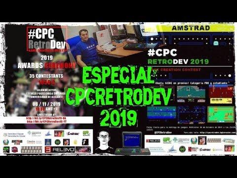 Especial CPCretrodev 2019: Todos los juegos de este gran evento