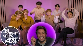 BTS Reminisces on What They WereLikein High School | The Tonight Show