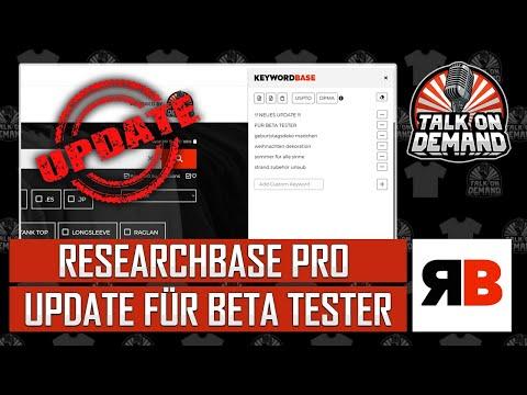 Neue Features für ResearchBase – Beta Phase startet