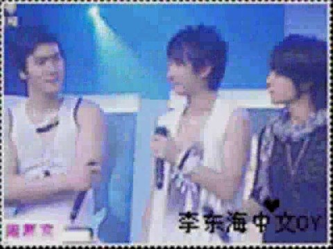 Hangeng Siwon Donghae...Love is Pain...