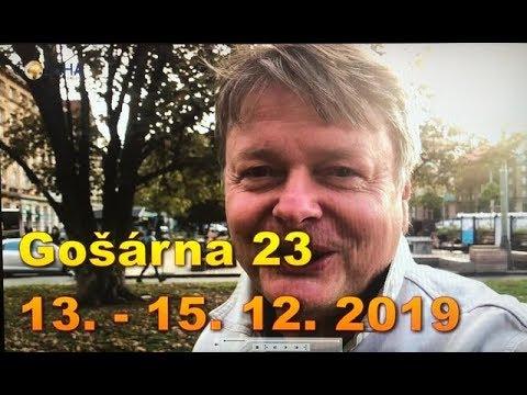 POZVÁNKA na říjnovou a prosincovou Gošárnu 2019!
