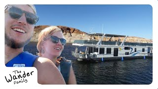 EPIC HOUSEBOAT FAMILY VACATION!! ⛴ Lake Powell   The Wander Family