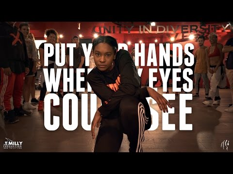 Busta Rhymes - Put Your Hands Where My Eyes Could See @WilldaBeast__ Choreography | @TimMilgram