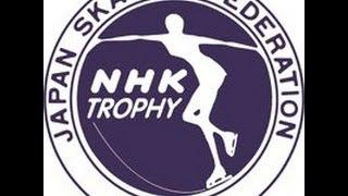 2012 NHK Trophy Ladies Medal Ceremony