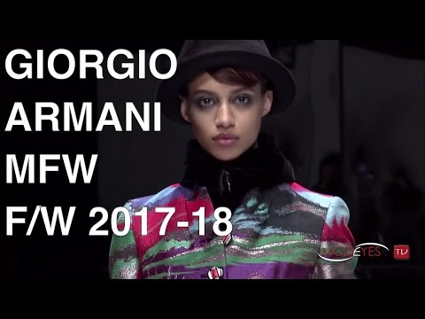GIORGIO ARMANI | FALL WINTER 2017 2018 | FULL FASHION SHOW HD