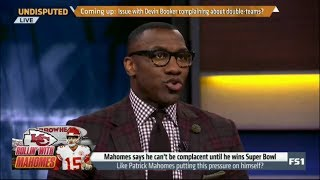 Undisputed | Skip and Shannon DEBATE: Like Patrick Mahomes putting this perssure on himself?