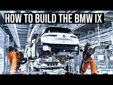 This is how the BMW iX is built in Germany