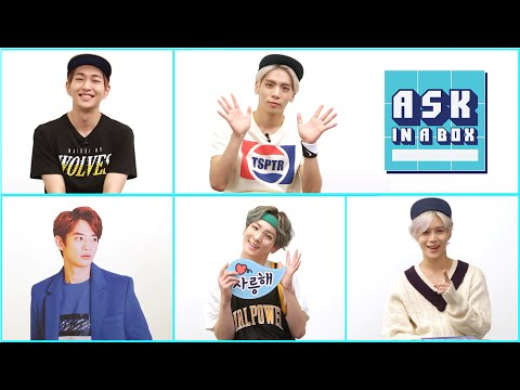 ASK IN A BOX: SHINee(샤이니) _ View [ENG/JPN/CHN SUB]