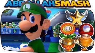 Mario Tennis Aces - ALL Tournament Trophies With Luigi!
