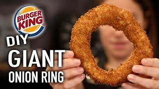 DIY Giant Onion Ring