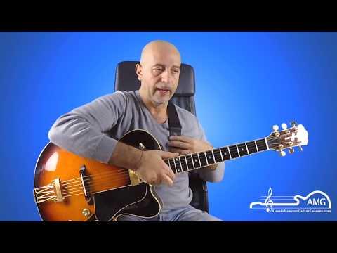 Come avere una corretta postura  con la chitarra - Lezioni di chitarra jazz