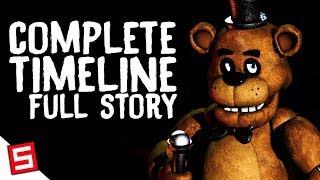 FNAF: Full Timeline Explained!, FNAF Full Story 1-6 Explained! (FNAF Final Mega Theory Part 1)