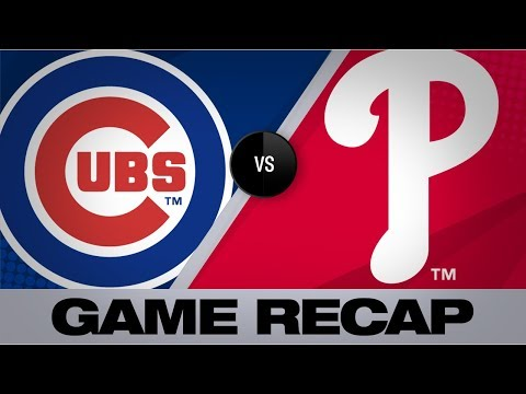 Realmuto powers the Phillies in a 4-2 win   Cubs-Phillies Game Highlights 8/13/19