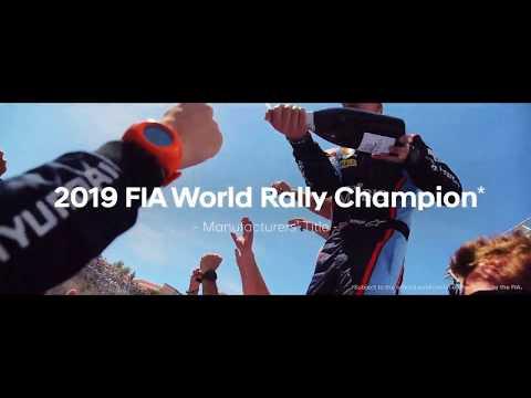 Hyundai Motorsport | Verdensmester i fabrikksmesterskapet under Rally 2019