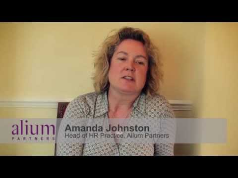 Managing Your Workforce - Amanda Johnston at Alium Partners HR Leadership Event