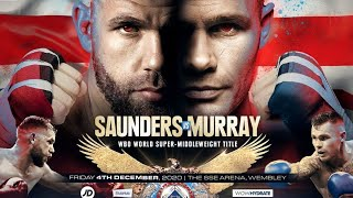 BILLY JOE SAUNDERS VS MARTIN MURRAY LIVE AUDIO COMMENTARY