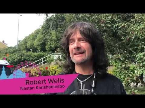 Robert Wells om Stjärnglans 20 juli på Östersjöfestivalen 2019!