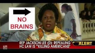 Sheila Jackson Lee: No Brains