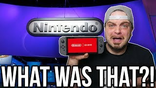 Nintendo E3 2018 Conference Review - Big Disappointment?   RGT 85