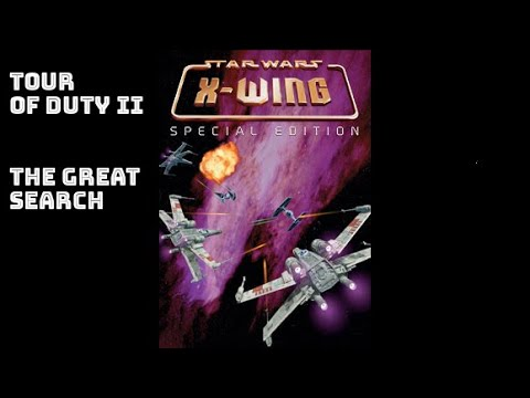 BITeLog 00FF.6: X-Wing (DOS) TOUR OF DUTY II: THE GREAT SEARCH ????