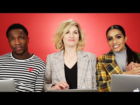 """The Cast Of """"Doctor Who"""" Finds Out Which Characters They Really Are"""