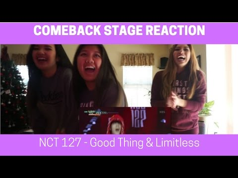 COMEBACK STAGE REACTION | NCT 127 - Good Thing & Limitless