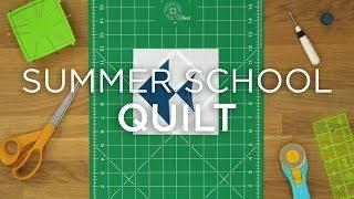 Quilt Snips Mini Tutorial--Summer School
