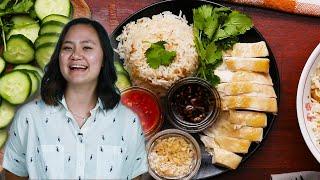Hainanese Chicken Rice • Tasty