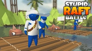 Totally Accurate Raft Battle Simulator! - Let's Play Stupid Raft Battles Gameplay