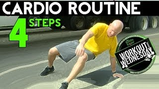 4 Step Simple Cardio OTR - Workout Wednesday