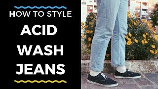 How to style Acid Wash Jeans | Men's Fashion