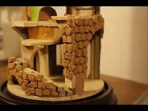 Come creare una casetta per il presepe con il cartoncino ...