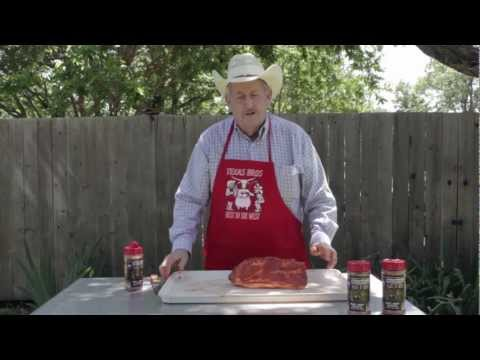 Part 1 - How To Smoke A Boston Butt - Texas Cooking