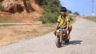 Cậu Bé Dân Tộc Chế Siêu Xe Gỗ Super Bike Ducati Độc Nhất Việt Nam