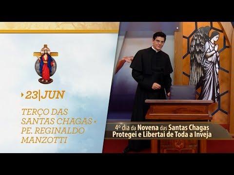 Terço das Santas Chagas | Padre Reginaldo Manzotti | 23 de Junho de 2019